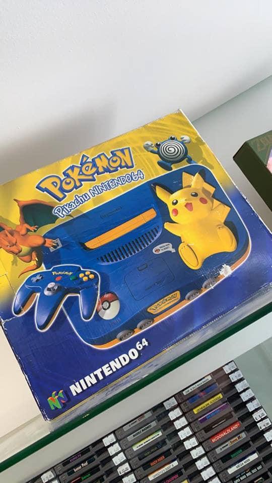 Sélection de consoles en promotion (Occasion) - Ex : Console Nintendo 64 Pikachu (Beauvais 64)