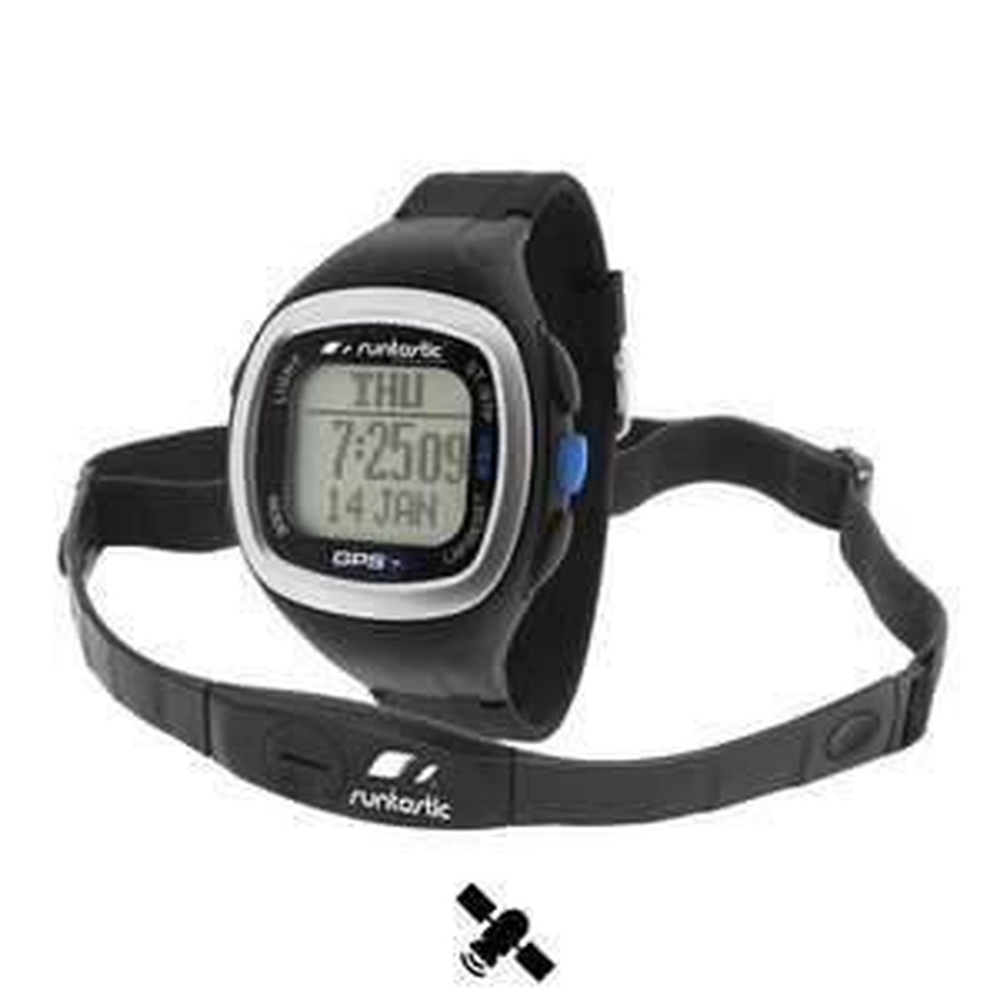 Montre GPS Runtastic + Ceinture thoracique noire