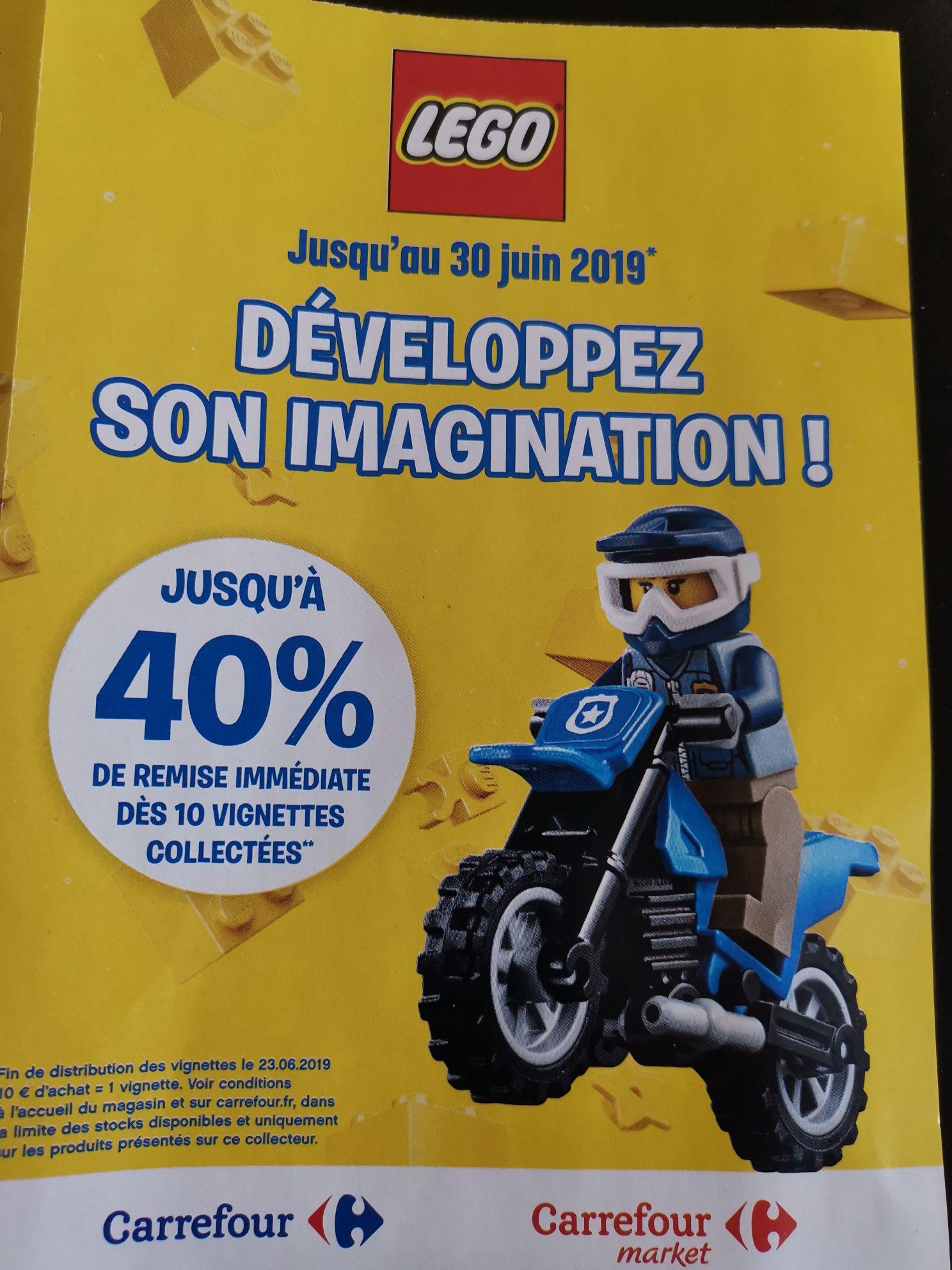 Jusqu'à -40% de réduction sur une sélection de Lego - Vernouillet (78)