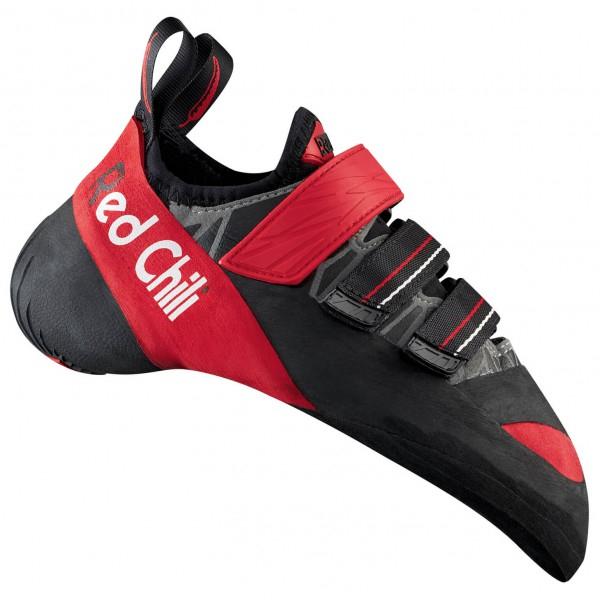 Chaussons d'escalade Red Chili Octan - noir / rouge (du 35.5 au 38.5)