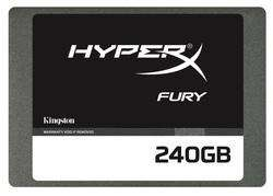 SSD Kingston HyperX Fury (Mémoire MLC)  -  240 Go