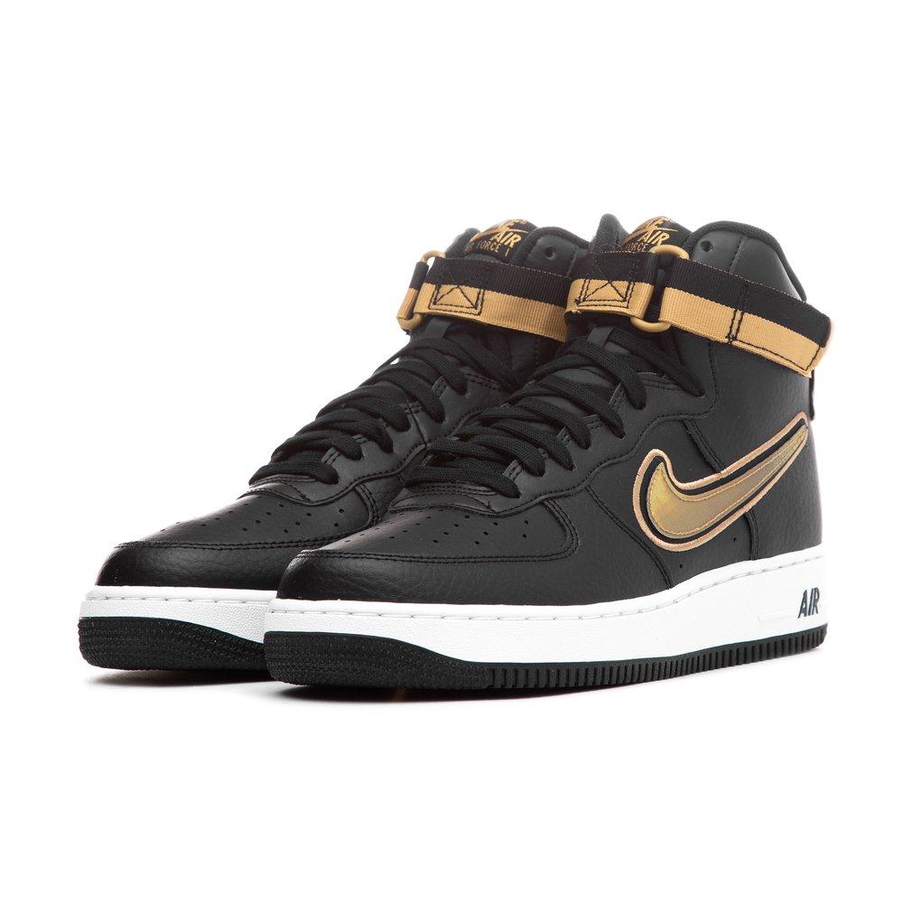 Baskets Nike Air Force 1 High '07 LV8 Sport (Noir et Or) - Taille 41 à 47.5
