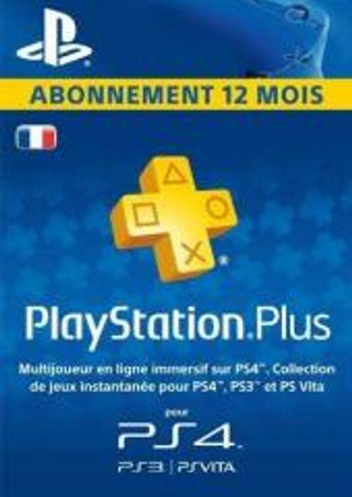 Abonnement de 12 Mois au PlayStation Plus (Dématérialisé)