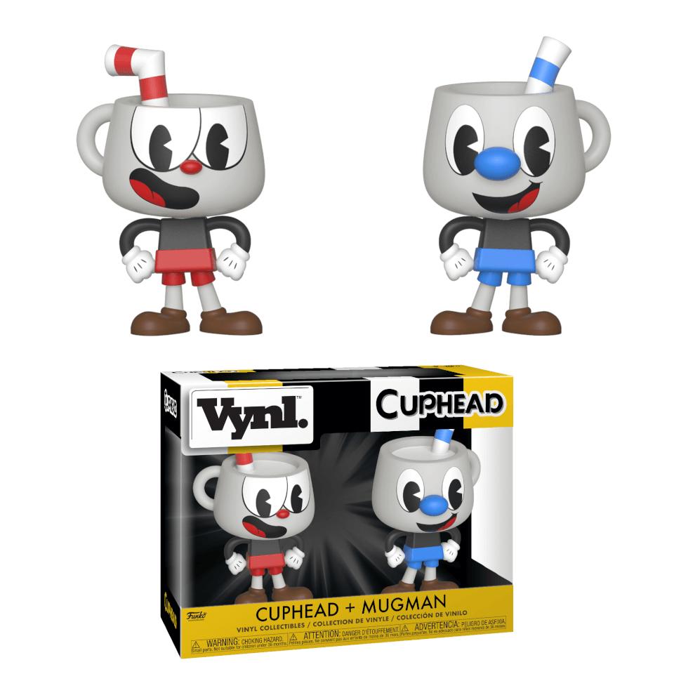 Pack 2 figurines Vynl. Cuphead & Mugman