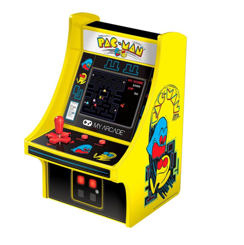 Sélection console portable Rétro en promotion - Ex : My Arcade Mini Borne Retro Pac-Man - Jaune