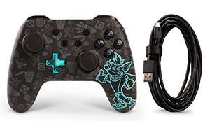 Manette PowerA Crash Bandicoot pour Nintendo Switch - Noir