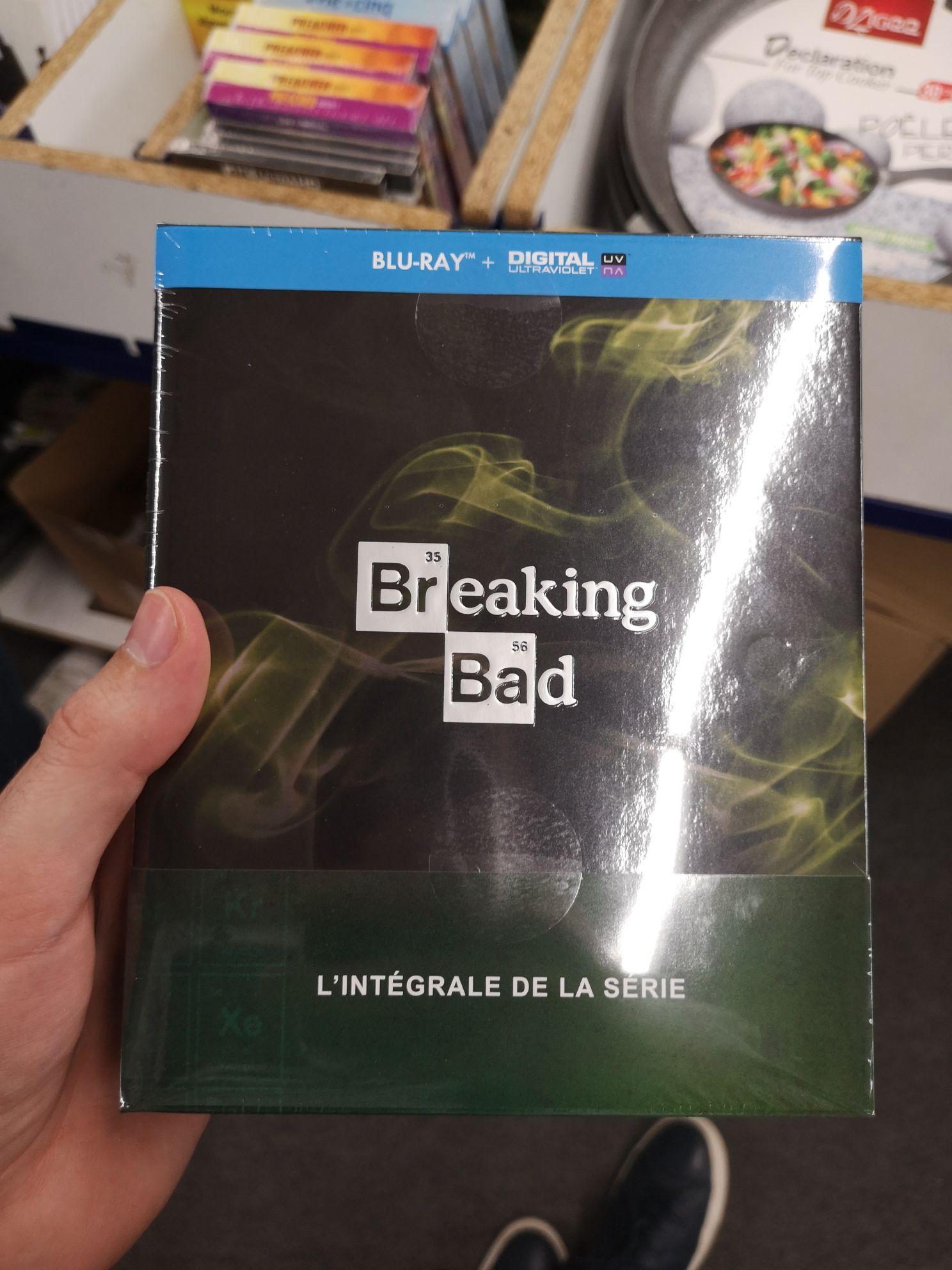 Coffret Blu-Ray Breaking Bad l'Intégrale