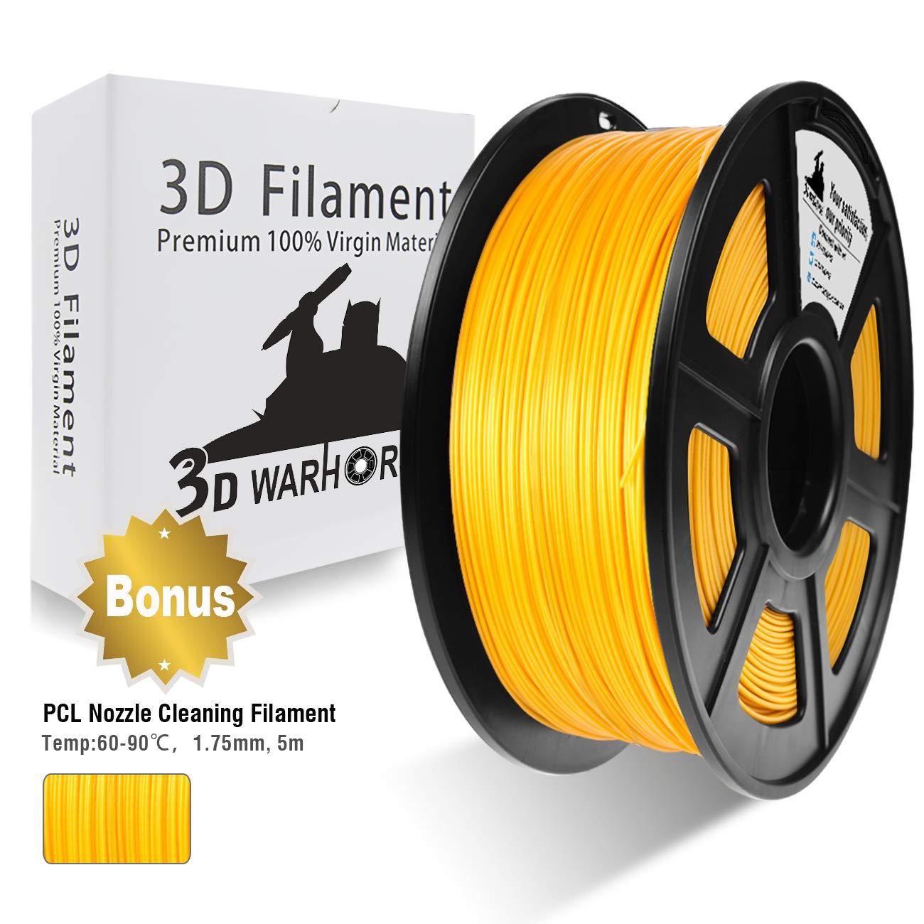 PLA Filament 3D Hero - Coloris au choix, 1.75mm, 1kg (Vendeur tiers - Expédié par Amazon)