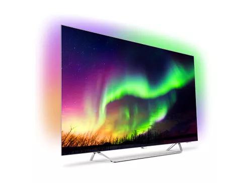 """TV 65"""" Philips 65OLED873 - TV OLED 4K, Ambilight 3 côtés"""