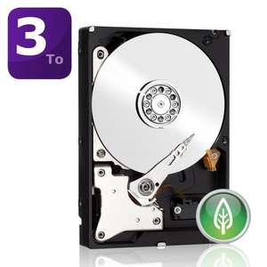 """Disque dur  3.5"""" WD Green 3To"""