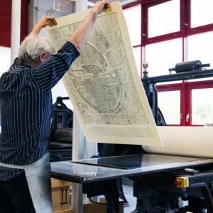 Visite gratuite des ateliers d'art de chalcographiede la Réunion des musées nationaux - Grand Palais (Saint-Denis - 93)