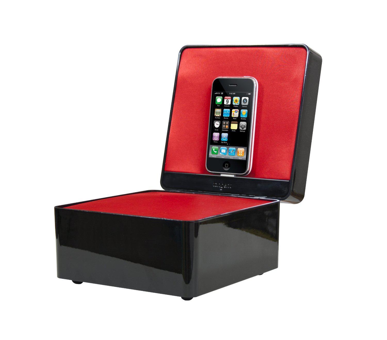 Enceinte dock Tangent Pearl Box noir pour iPhone ou iPod (ancien connecteur)