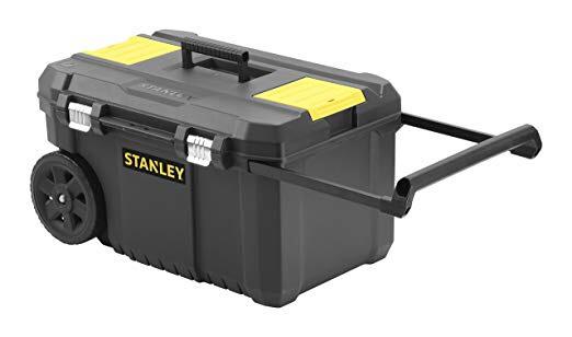 Système de rangement  avec roues Stanley Essential STST1 (80150) - 40 x 34,5 x 64,5 cm