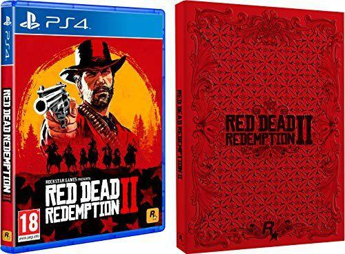 Jeu Red Dead Redemption 2 + Coffret Steelbook sur PS4