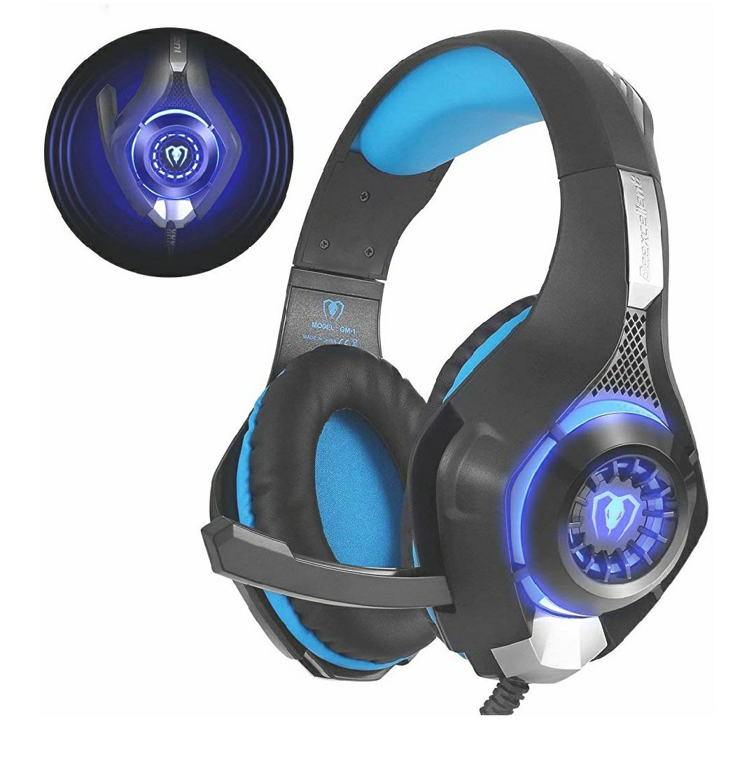 Casque Audio Filaire Beexcellent GM-1 LED compatible PS4, Xbox One & PC (Vendeur Tiers)