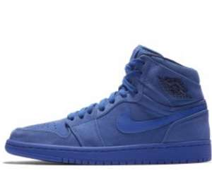 Baskets Nike Air Jordan 1 Retro High Premium Blue Void