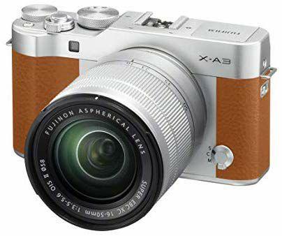 Appareil Photo Fujifilm X-A3 Marron + Objectif 16-50mm II