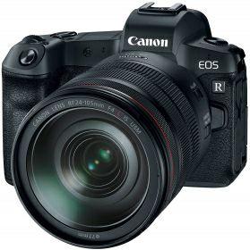 Appareil photo Reflex Canon EOS R + Objectif RF 24-105mm f/4L IS USM + Bague d'adaptation EF-EOS R (Via ODR de 300€)