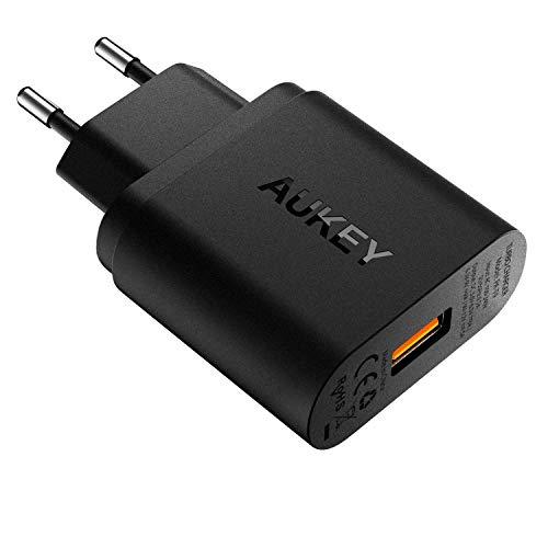 Chargeur secteur Aukey - 1 port USB QuickCharge 3.0 (Vendeur tiers)
