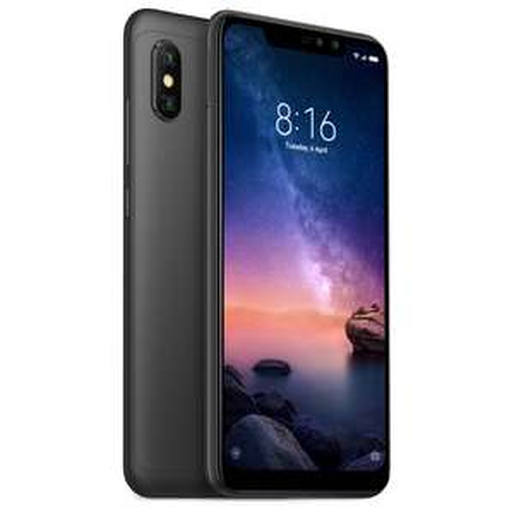 "Smartphone 6.26"" Xiaomi Redmi Note 6 Pro - Full HD+, SnapDragon 636, 3Go RAM, 32Go ROM, Noir ou bleu (version globale)"