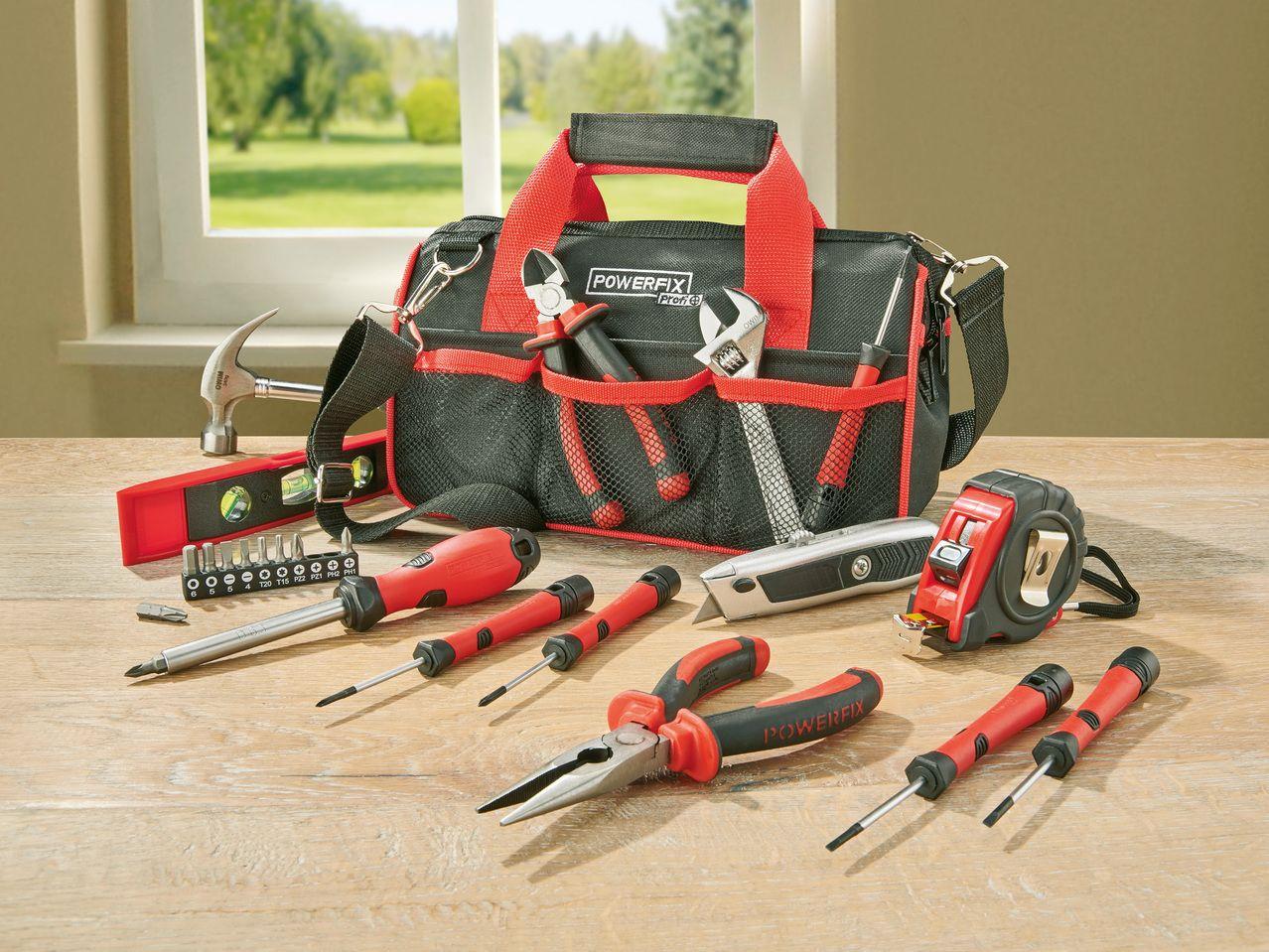 Set de 23 outils Powerfix