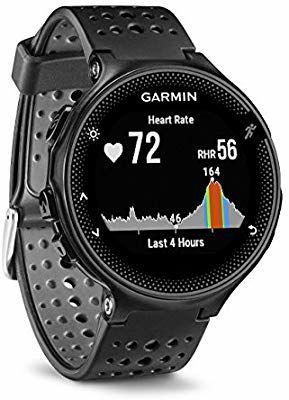 Montre de Running GPS avec cardio Garmin Forerunner 235 - Noir/Gris (Reconditionné)