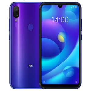 "Smartphone 5,84"" Xiaomi Mi Play (Global Version) - Full HD+, Helio P35 Octa Core, 4/64Go, Dual Sim"