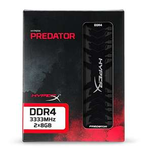 Kit Mémoire DDR4 HyperX Predator HX433C16PB3K2/16 - 16Go (2 x 8Go) - 3333 MHz