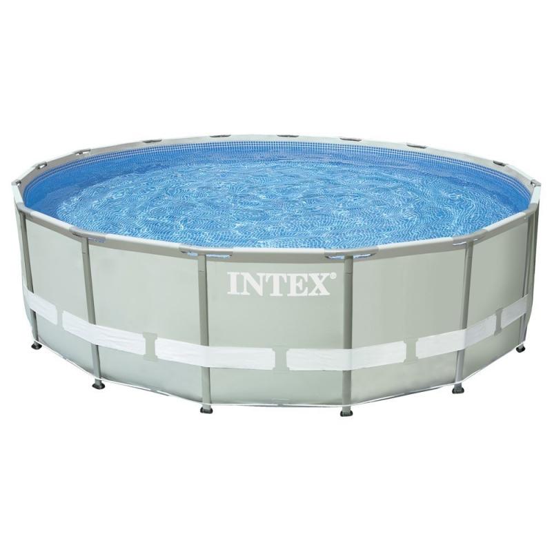 Piscine Intex ultra frame - 488*122cm + Filtre a sable