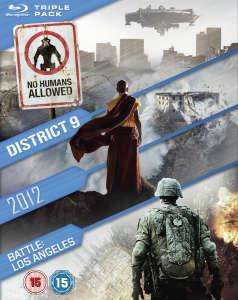 coffret blu ray 2012 / Battle: Los Angeles / District 9