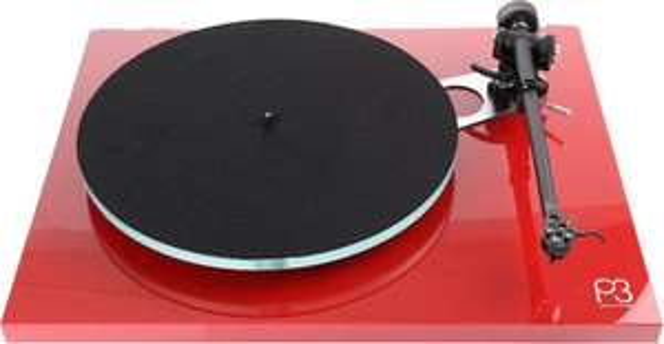 Platine Vinyle Rega Planar 3 - Rouge