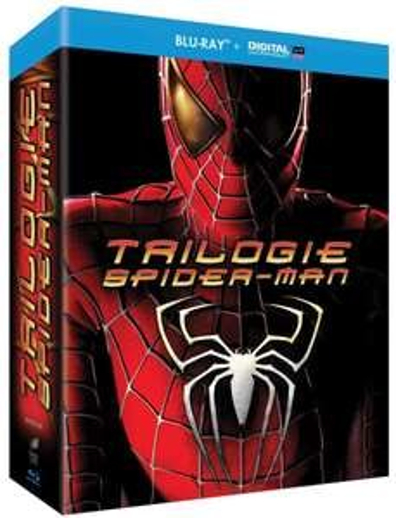 Coffret Blu-ray Spider-Man Trilogie (+ Copie digitale)