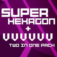 Pack Jeu Super Hexagon et VVVVVV sur PC (Dématérialisé - Steam)