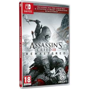 Assassin's Creed 3 + Assassin's Creed Liberation Remastered sur Nintendo Switch