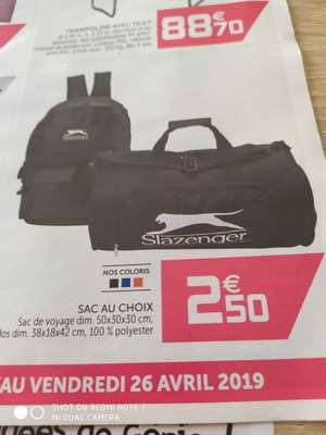 075a73d909 Bons plans Sacs de sport : promotions en ligne et en magasin » Dealabs