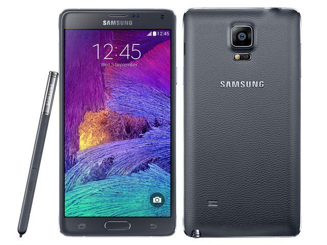 """Smartphone 5.7"""" Samsung Galaxy Note 4 Noir (Neuf, dépackagé) - 32 Go"""