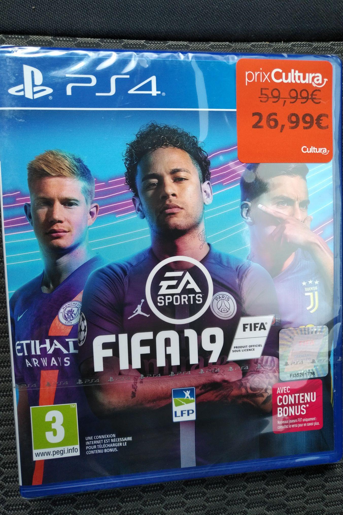 Jeu Fifa 19 sur PS4 - Cultura Aubagne (13)