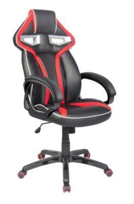 Fauteuil de bureau Prime 2 - Noir et rouge