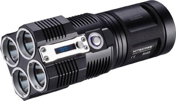 Lampe portable - Nitecore TM26 QUADRAY 3500 Lumens, fdp inclus