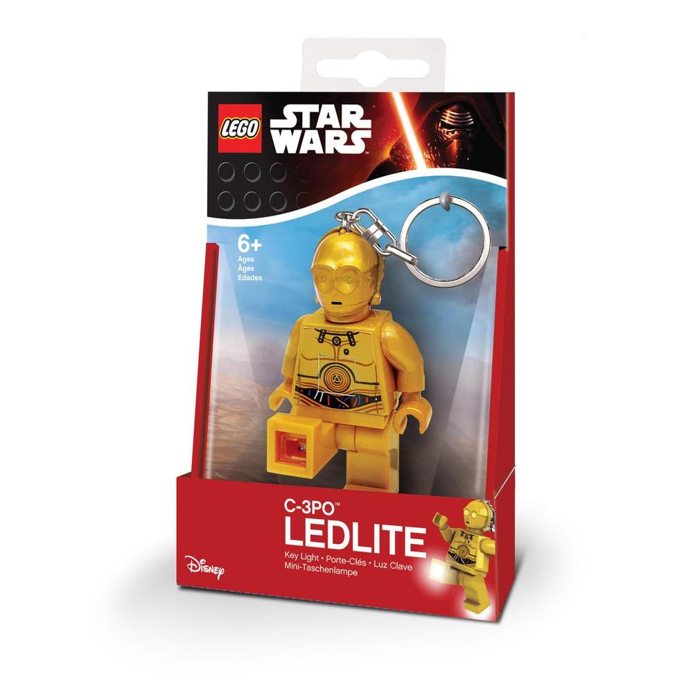 Porte-clés LED Lego Star Wars : C3PO