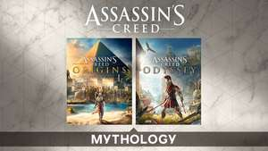 Pack Assassin's Creed Mythology : Assassin's Creed Origins + Assassin's Creed Odyssey sur PC (Dématérialisé, Uplay)