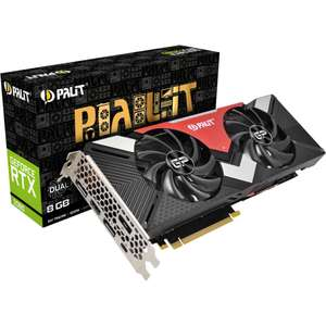Carte graphique Palit GeForce RTX 2080 Dual - 8 Go