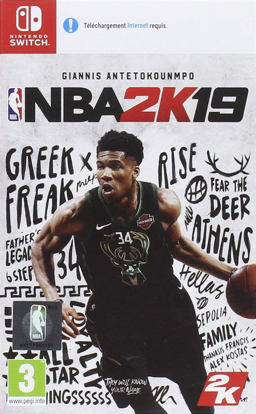 Jeu NBA 2k19 sur Nintendo Switch