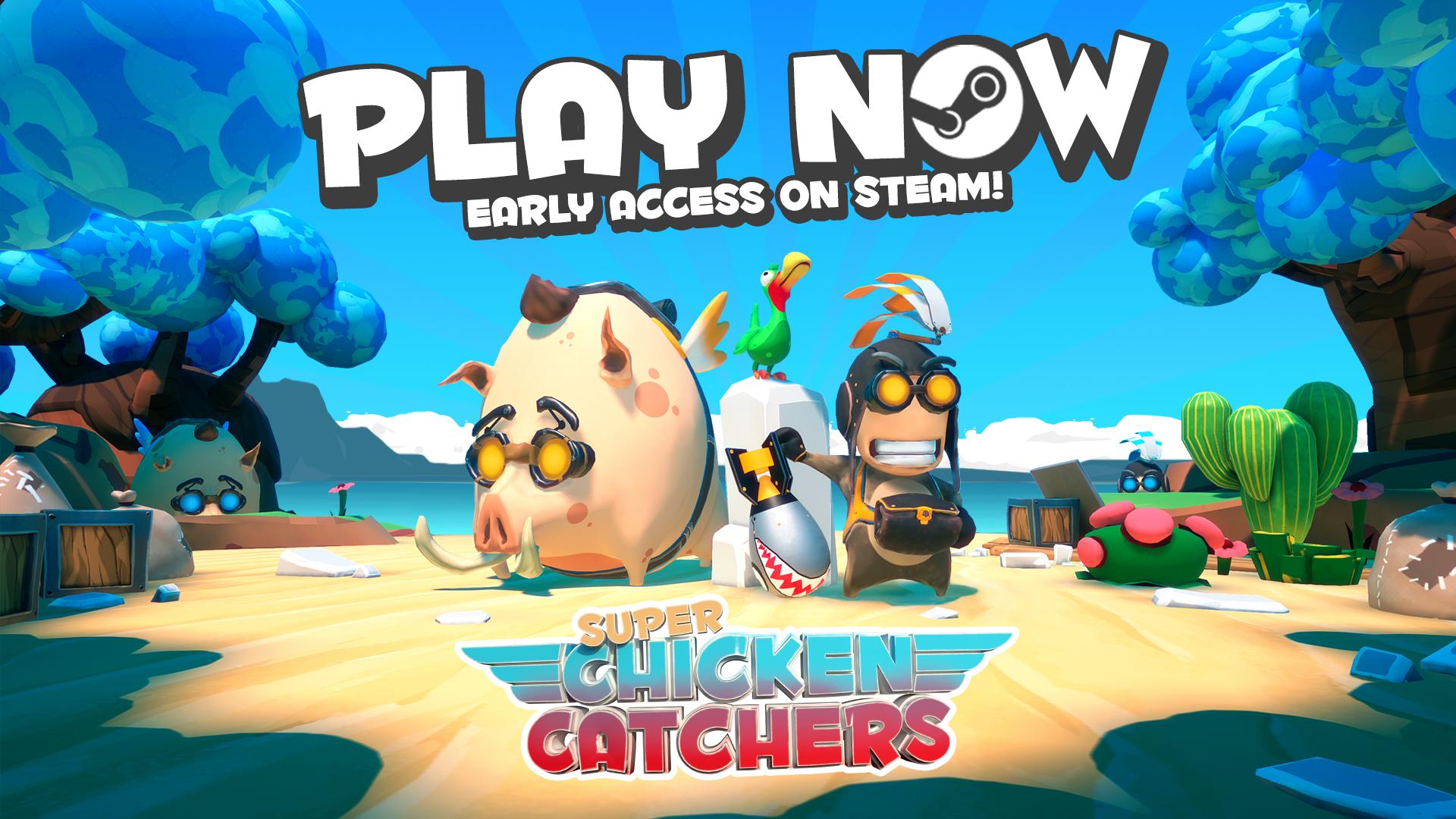 Super Chicken Catchers sur PC (Dématérialisé - Steam)
