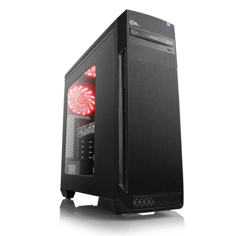 PC fixe Gaming First  - Ryzen 3 2300X (3,5Ghz), RX 570 OC 8Go, RAM 8Go, SSD 240Go, Alim. 500W