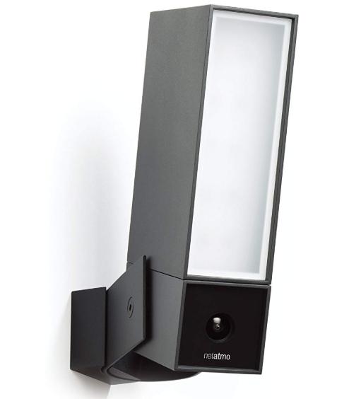 Caméra de Surveillance Extérieure Intelligente avec éclairage intégré Netatmo Presence
