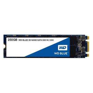 SSD interne M.2 2280 WD Blue (3D Nand) - 250 Go