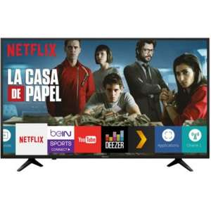 "TV 58"" Hisense 58A6100 - LED, 4K UHD, HDR 10, Smart TV (Via ODR de 50€)"