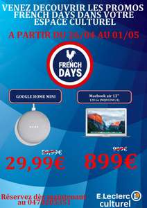 Sélection d'articles en promotion - Ex : Google Home Mini - Moulins (03)