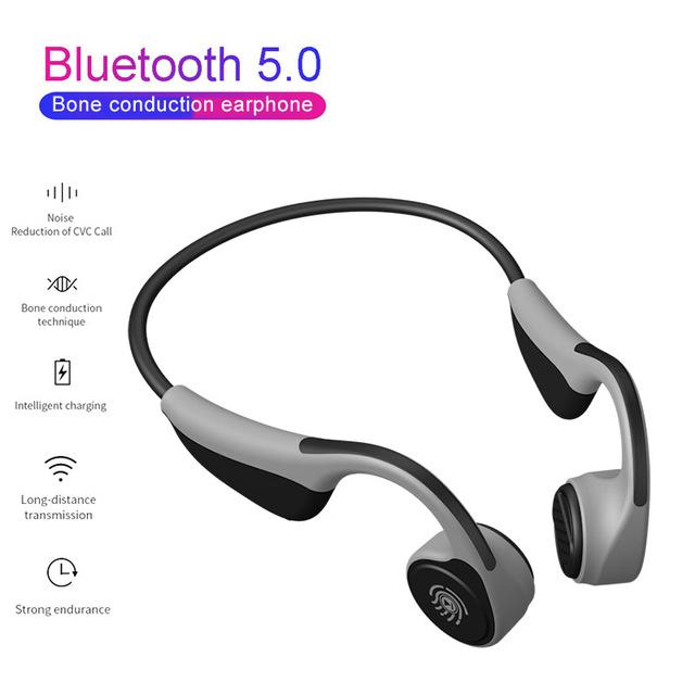 V9 Casque à conduction osseuse Bluetooth 5.0